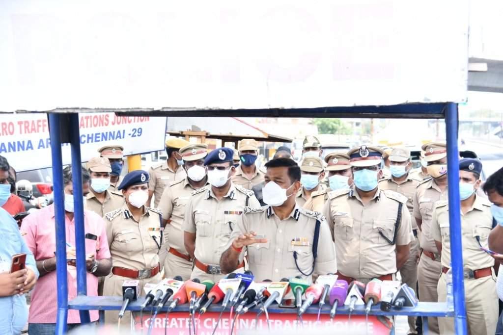 சென்னையில் மட்டும் 3,609 காவலர்கள் கொரோனா தொற்று ஏற்பட்டுள்ளது - காவல் ஆணையர் மகேஷ்குமார் அகர்வால்